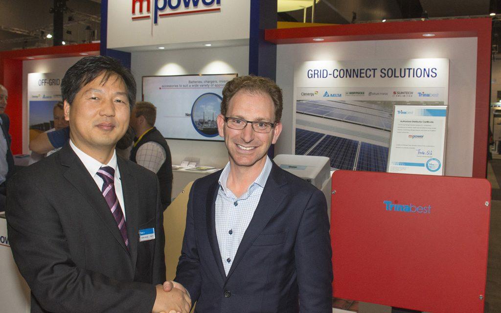 MPower and TrinaBEST shake hands on storage