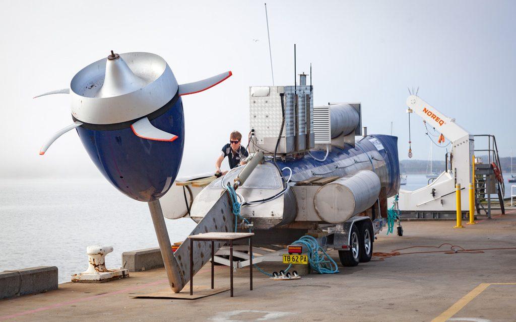 Tasmania test for tidal turbine