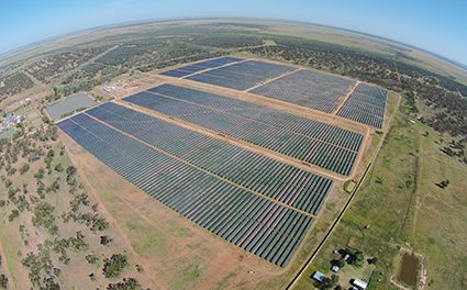 Barcaldine fringe-of-grid solar plant comes to life