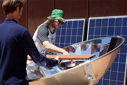Off the Grid: lots of fun and powered by the sun