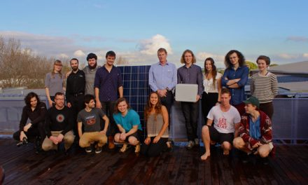 Enphase storage and solar power Sydney student block