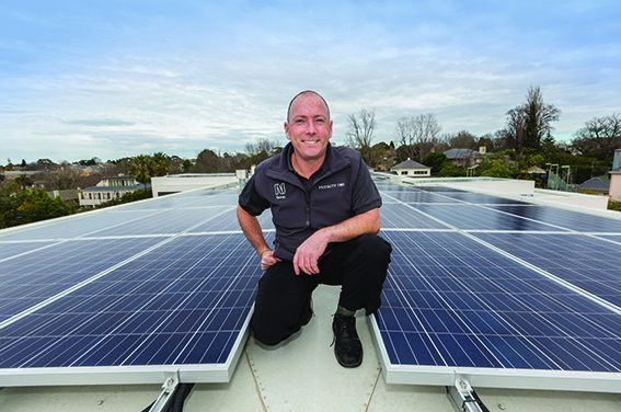 Meet the solar installer who got in when the others got out