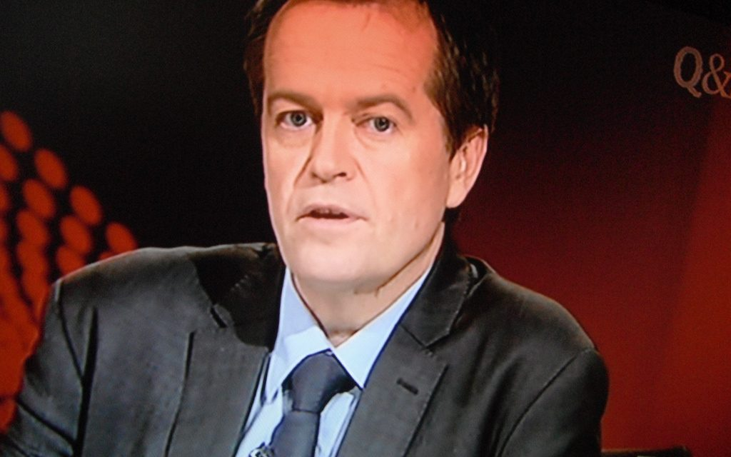 Labor's emissions intensity scheme will hit 50% renewable energy target by 2030: Shorten