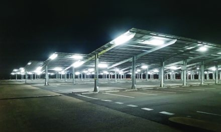 Solar car park puts students in the shade