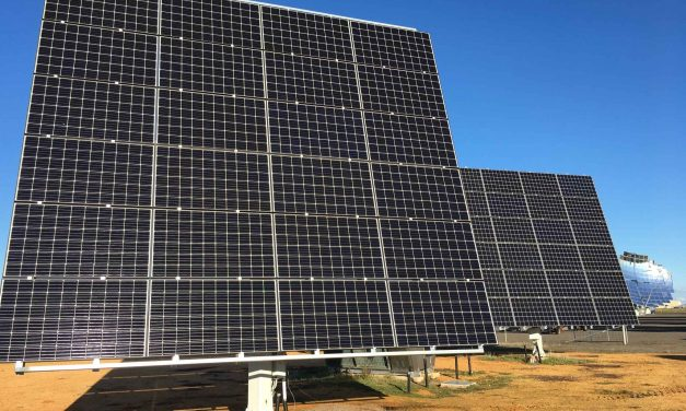 Concentrated PV conversion puts panels on plates