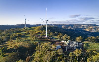Winding up at White Rock Wind Farm