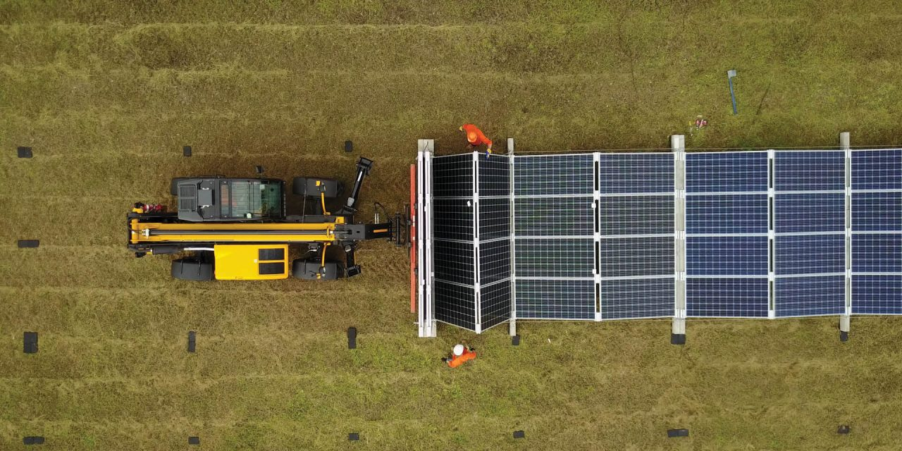Fold-up solar PV comes to the rescue of remote mines