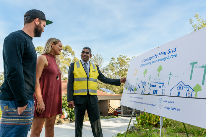 The street that's breaking away from the pack … trading renewable energy in the Melbourne suburbs