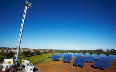 ARENA backs RayGen concentrated solar PV at Vic mushroom farm