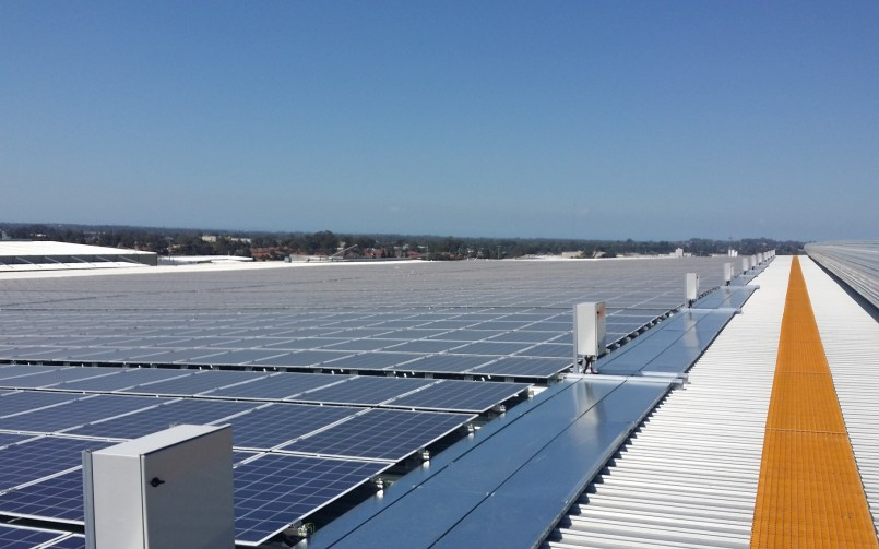 Retailer installs 1MW solar PV system on Qld distribution centre