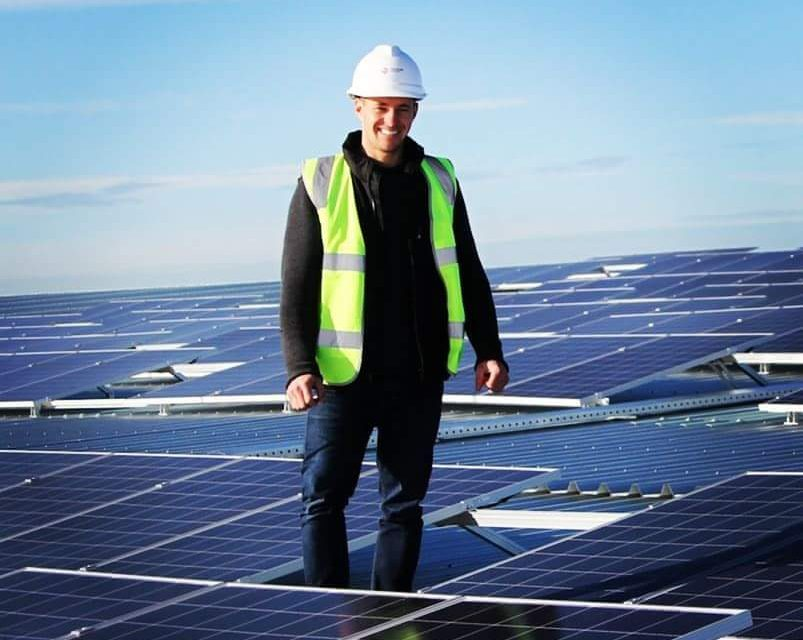 Solar installer shows the way to take control