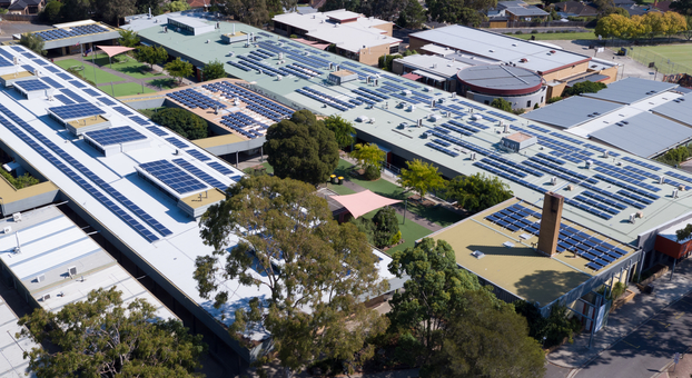 School project earns top marks for solar security