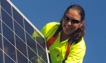 'Jobs don't have a gender' … and that includes solar