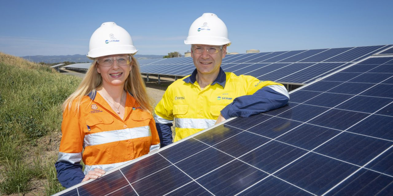 SA Water picks Enerven for $304m solar and storage project