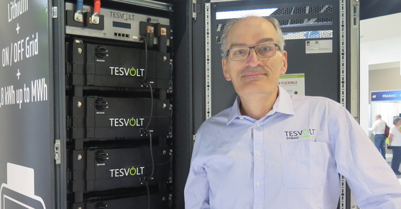'Anyone who is using diesel should be knocking on our door': Tesvolt battery boss