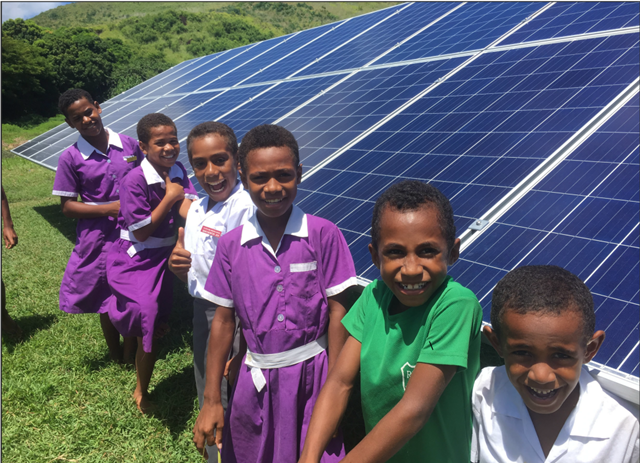 Fiji teaches its young the logic of solar energy