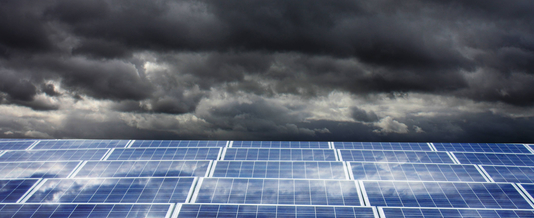 Dark times for big solar