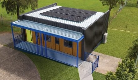 Solar-and-storage classroom scores 'A' for efficiency