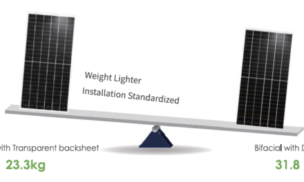 JinkoSolar Swan cuts bifacial module weight by 25%