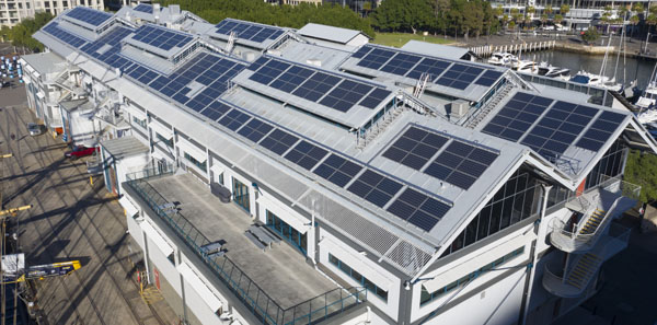 Lighter PV panels push flimsier rooftops under the sun