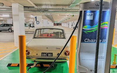 New heart in an old body … EV conversions keep car culture alive