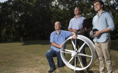Little spinner … mini wind turbine catches $400,000 in funding