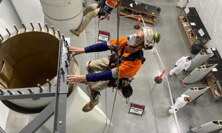 Turbine blade repair course sharpens skills as wind builds