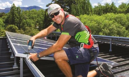 'It's a great job' … Tassie installer shares the power around