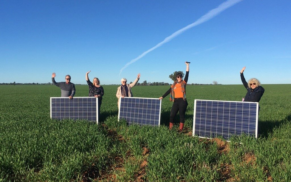 Locked-out from PV? How about a plot in a 1MW community solar garden