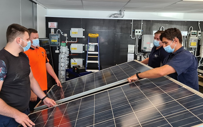 The GSES staffer who keeps solar and storage students on course