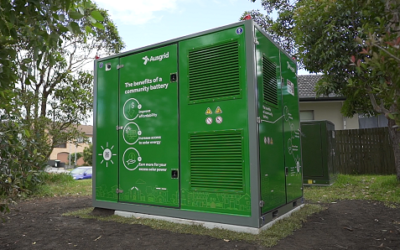Ausgrid's community battery strategy targets flexibility in the network