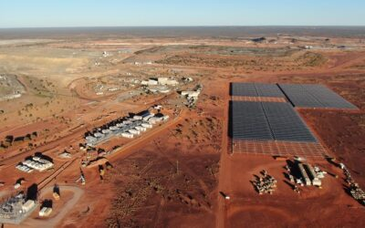 Tracking ratchets up yields at PV-hybrid mine sites